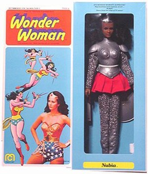 Mego Corporation - 1976 Nubia doll from the Wonder Woman series