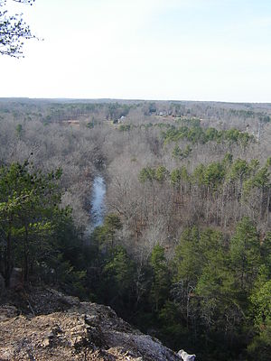 Occoneechee Mountain State Natural Area - Outlook at Occoneechee
