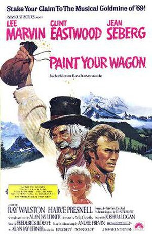 Paint Your Wagon (film) - Original film poster