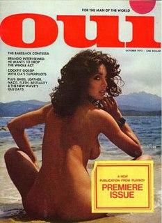 <i>Oui</i> (magazine) adult pornographic magazine