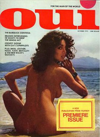 Oui (magazine) - OUI magazine first cover (October 1972)