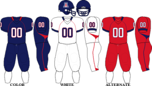2008 Arizona Wildcats football team - Image: Pac 10 Uniform UA 2008
