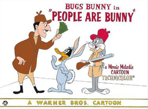 People Are Bunny - Lobby card