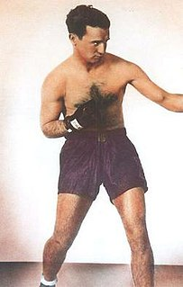 Pinky Silverberg American boxer