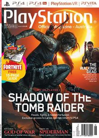 PlayStation Official Magazine – Australia - PlayStation Official Magazine - Australia cover from June 2018 issue