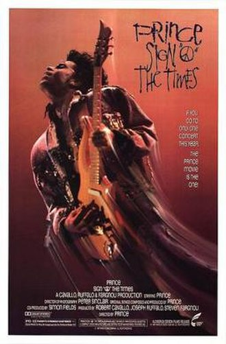 Sign o' the Times (film) - Theatrical release poster