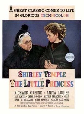 The Little Princess (1939 film) - theatrical release poster