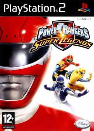 Power Rangers: Super Legends - Image: Power Rangers Super Legends cover art