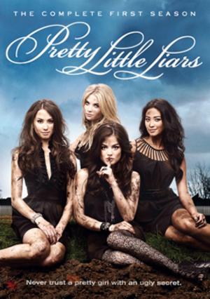 Pretty Little Liars (season 1) - Season 1 DVD cover