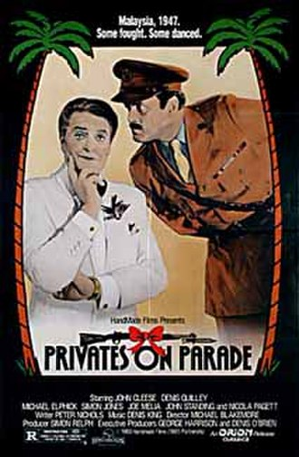 Privates on Parade (film) - Image: Privates on Parade