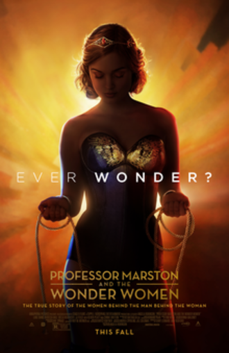 Professor Marston and the Wonder Women - Theatrical release poster