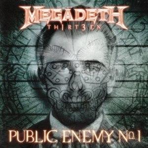 Public Enemy No. 1 (Megadeth song) - Image: Public Enemy cover