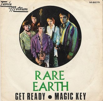 Get Ready (The Temptations song) - Image: RARE EARTH Get Ready Magic Key