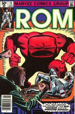 ROM no. 14 (Marvel Comics - front cover).jpg