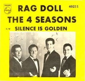 Rag Doll (The Four Seasons song) - Image: Rag Doll 4 seasons