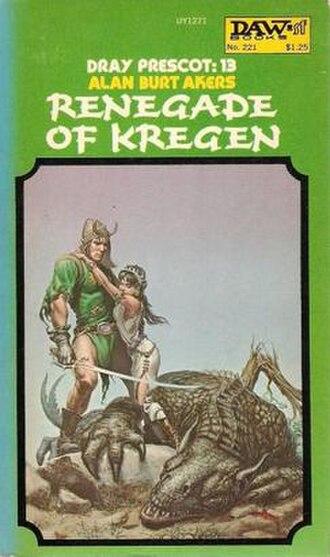 Renegade of Kregen - First edition cover