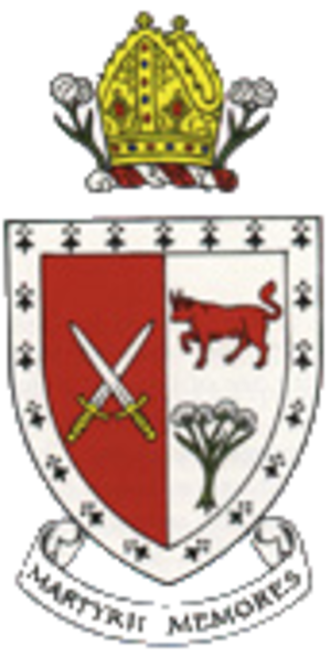 Ridley Hall, Cambridge - Coat of Arms of Ridley Hall