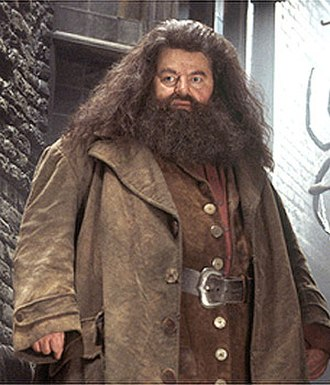 Rubeus Hagrid - Robbie Coltrane as Rubeus Hagrid in Harry Potter and the Chamber of Secrets