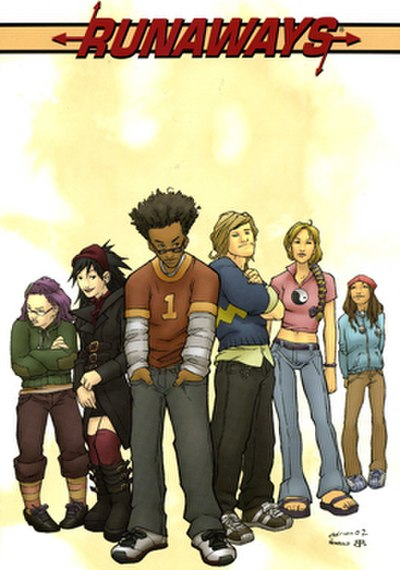 Picture of a book: Runaways