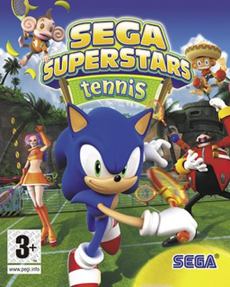 Sega Superstars Tennis - Image: SEGA Superstars Tennis
