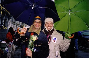 David Michael Barrett - Image: San Francisco 2004 same sex weddings