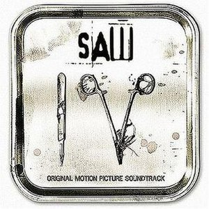 Saw IV (soundtrack) - Image: Saw 4 album cover