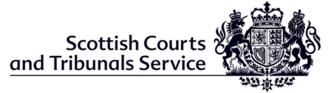 Scottish Courts and Tribunals Service - Image: Scottish Courts and Tribunals Service logo
