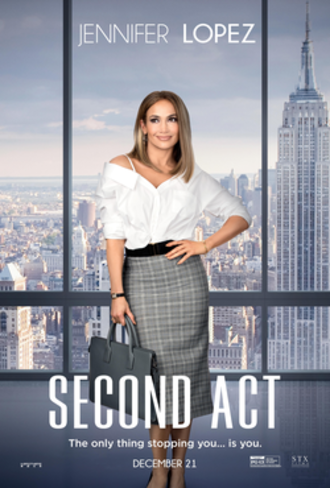 Second Act (film) - Theatrical release poster