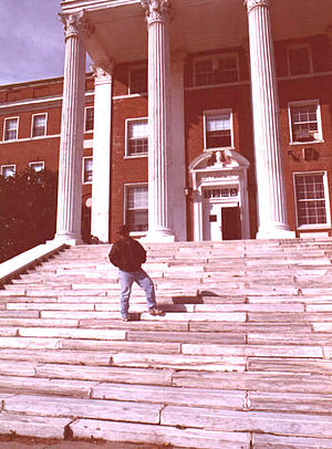 La Salle Military Academy - The Senior Steps and St. Joseph's Hall