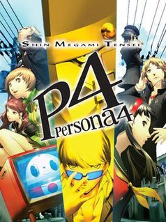 <i>Persona 4</i> Role-playing video game