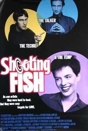 Shooting Fish - Promotional poster