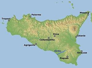 Dirillo - Image: Sicily Dirillo
