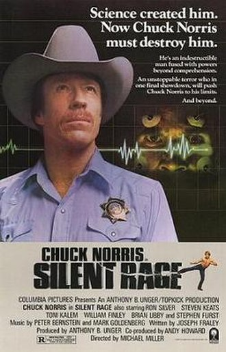 Silent Rage - Theatrical release poster