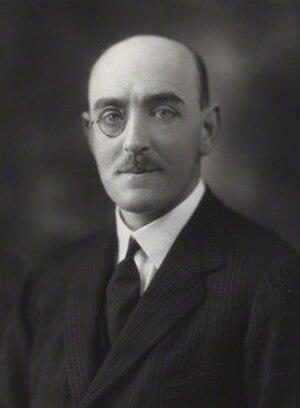 Herbert Cayzer, 1st Baron Rotherwick - Cayzer in 1924
