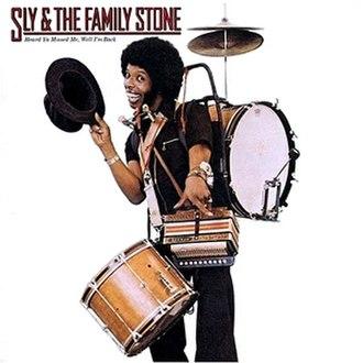 Heard Ya Missed Me, Well I'm Back - Image: Sly stone heard you missed 1976
