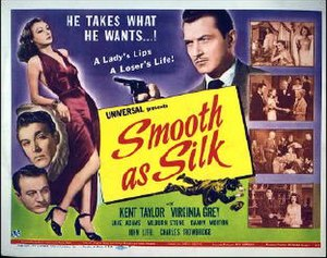 Smooth as Silk - Theatrical release poster