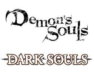 Souls (series) - Logos for Demon's Souls and Dark Souls, respectively