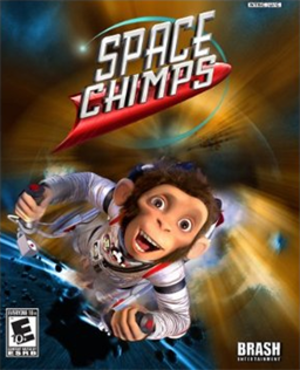 Space Chimps (video game) - Image: Space Chimps Coverart
