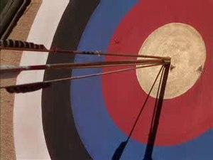 Howard Hill - Split arrow from The Adventures of Robin Hood (1938)