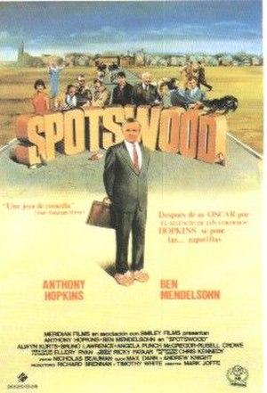 Spotswood (film) - Image: Spotswood movieposter