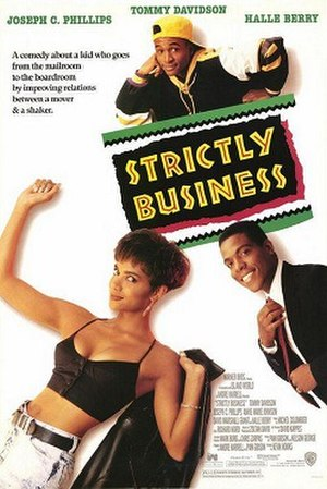 Strictly Business (1991 film) - Theatrical release poster