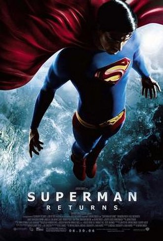 Superman Returns - Theatrical release poster