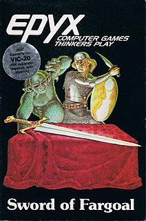 <i>Sword of Fargoal</i> 1983 video game