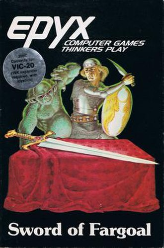Sword of Fargoal - Image: Sword of Fargoal