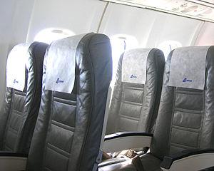 TAROM ATR 42-500 interior