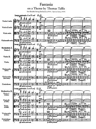 Page of printed musical score