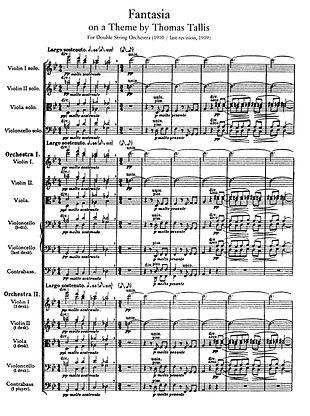 Page de partition musicale imprimée