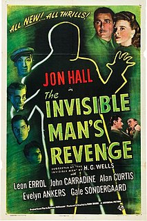 <i>The Invisible Mans Revenge</i> 1944 film by Ford Beebe