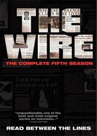 The Wire (season 5) - Image: The wire season 5 dvd
