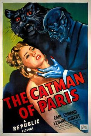 The Catman of Paris - Theatrical release poster